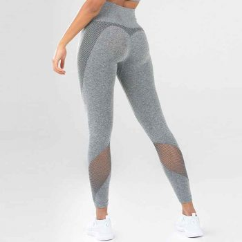 mesh-grey leggings outfit